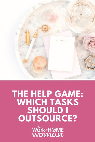 The Help Game Which Tasks Should I Outsource