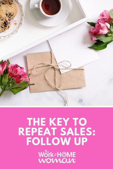 The Key To Repeat Sales Follow Up