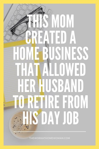 This Mom Created a Home Business That Allowed Her Husband to Retire From His Day Job - interview with Stacey Harris