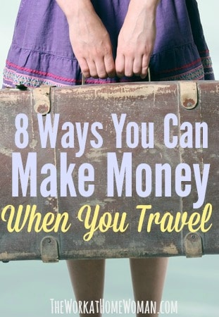 Do you want to extend your vacation, but you don't have the funds? There are a bunch of easy ways you can make extra money when you travel, here are some of the best ways to do it! #travel #money #work #summer #digitalnomad https://www.theworkathomewoman.com/make-money-traveling/  via @TheWorkatHomeWoman
