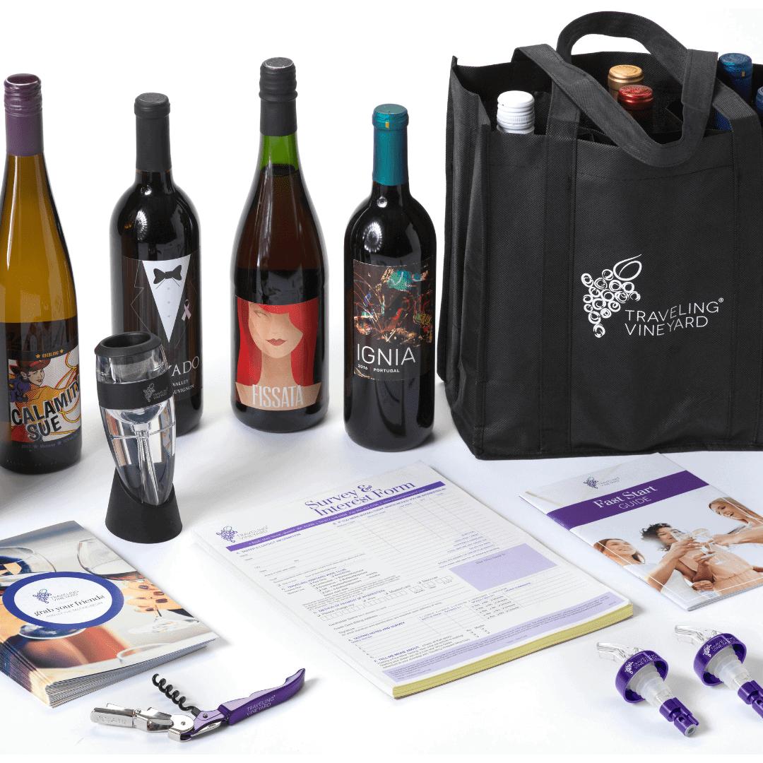 Traveling Vineyard Starter Kit