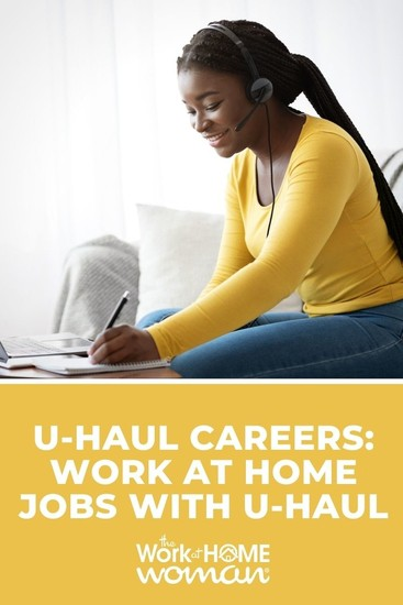 There are so many opportunities to work-from-home with U-Haul! Check out this list of U-Haul careers that you can do from home. #jobs #workathome #legit via @TheWorkatHomeWoman