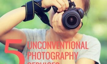 5 Unconventional Photography Services