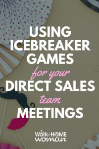 Using Icebreaker Games For Your Direct Sales Team Meetings