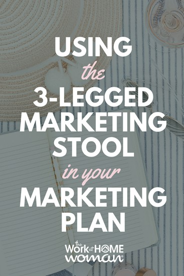 Using the 3-Legged Marketing Stool in Your Marketing Plan