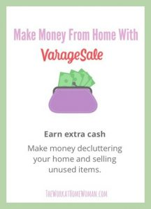 Make Money From Home with VarageSale