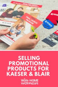 Selling Promotional Products as a Kaeser & Blair Distributor