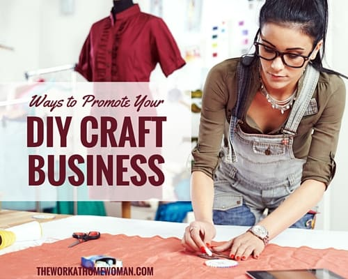Ways to Promote your DIY Craft Business