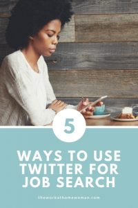 Five Ways to Use Twitter for Job Search