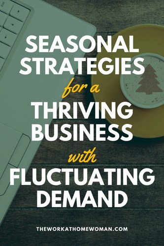 """The thing about a seasonal business is you're only """"in business"""" a few months of the year. A seasonal business like mine (artificial Christmas trees) needs creativity, a good marketing plan, and a whole lot of strategy to thrive throughout the year. Here's what you need to know. #seasonal #business via @TheWorkatHomeWoman"""
