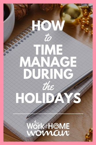 How to Time Manage During the Holidays