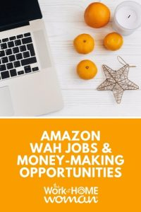 Amazon Work-at-Home Jobs and Money-Making Opportunities