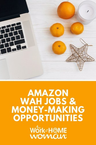 b636fd16a15a Amazon Work-at-Home Jobs and Money-Making Opportunities