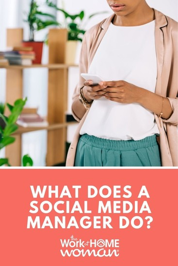 Is social media management the right remote job for you? Follow this post, and find out what a social media manager does and how to start. #socialmedia #jobs #workfromhome via @TheWorkatHomeWoman
