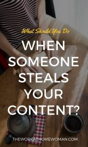 What Should You Do When Someone Steals Your Content