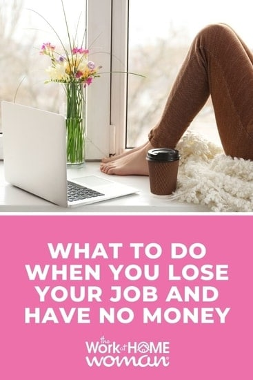 When you lose your job it can come as a huge shock. Here's how to find the financial support you need and get back into the workforce. via @TheWorkatHomeWoman