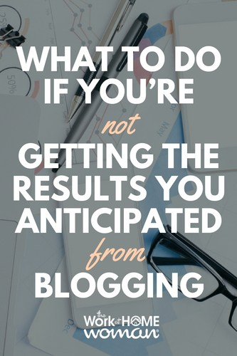 Expert opinions and how-to articles consistently mention blogging as one of the top methods of spreading brand awareness and driving website traffic. But what do you if you're not getting the results you anticipated from blogging? Here are some ways to improve your blog strategy to attract more views and conversions. #blogging #blog #business #marketing #bloggingtips via @TheWorkatHomeWoman