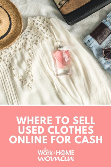 Where to Sell Used Clothes Online for Cash