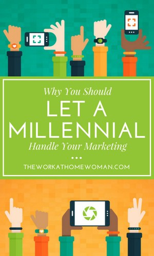 Do you need to hire marketing help for your home business? Here are some reasons why you should let a millennial handle your marketing in your business. via @TheWorkatHomeWoman