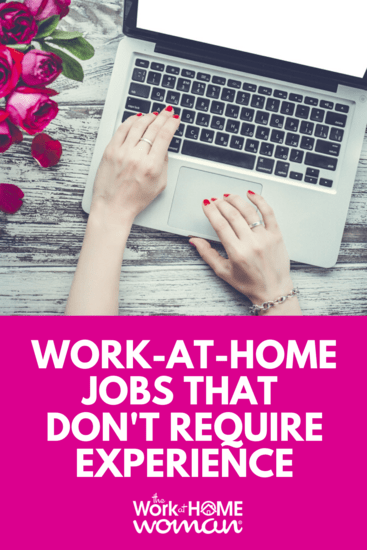No experience necessary for these work-from-home jobs! All you need for these entry-level jobs is the proper equipment and the right attitude. #workfromhome #job. #work #entrylevel via @TheWorkatHomeWoman