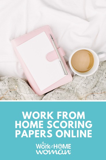 Work From Home Scoring Papers Online