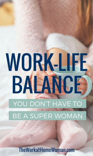 Often it can be difficult to find balance with our busy schedules. Here are some simple tips to find your work-life balance.  via @TheWorkatHomeWoman