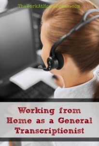 Working from Home as a General Transcriptionist - Interview with Lisa Mills