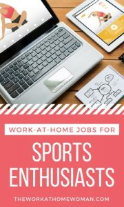 Work-at-Home Jobs for Sports Enthusiasts