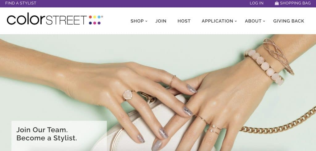 Beauty Business - Color Street Home Page