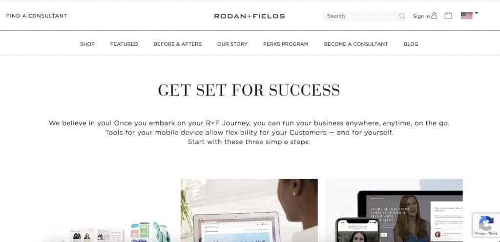 beauty business - rodan + fields