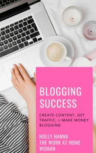 Free Blogging e-book: Work-at-Home and Make Money Blogging