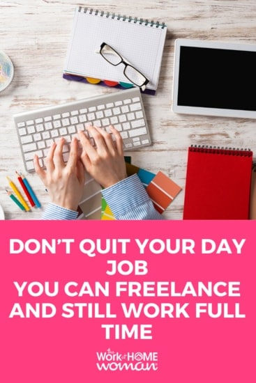 Whether you want to supplement your income or work from home, freelancing is the way to go. See how moonlighting might be the answer to the life of your dreams! #freelance #freelancing #moonlighting via @TheWorkatHomeWoman