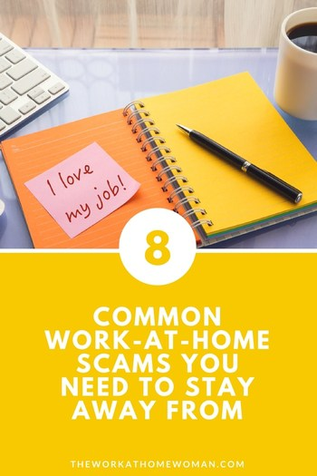 Common Work-at-Home Scams You NEED to Stay Away From