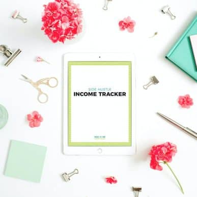 Side Hustle Income Tracker