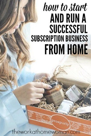 Run a Subscription Box Business From Home
