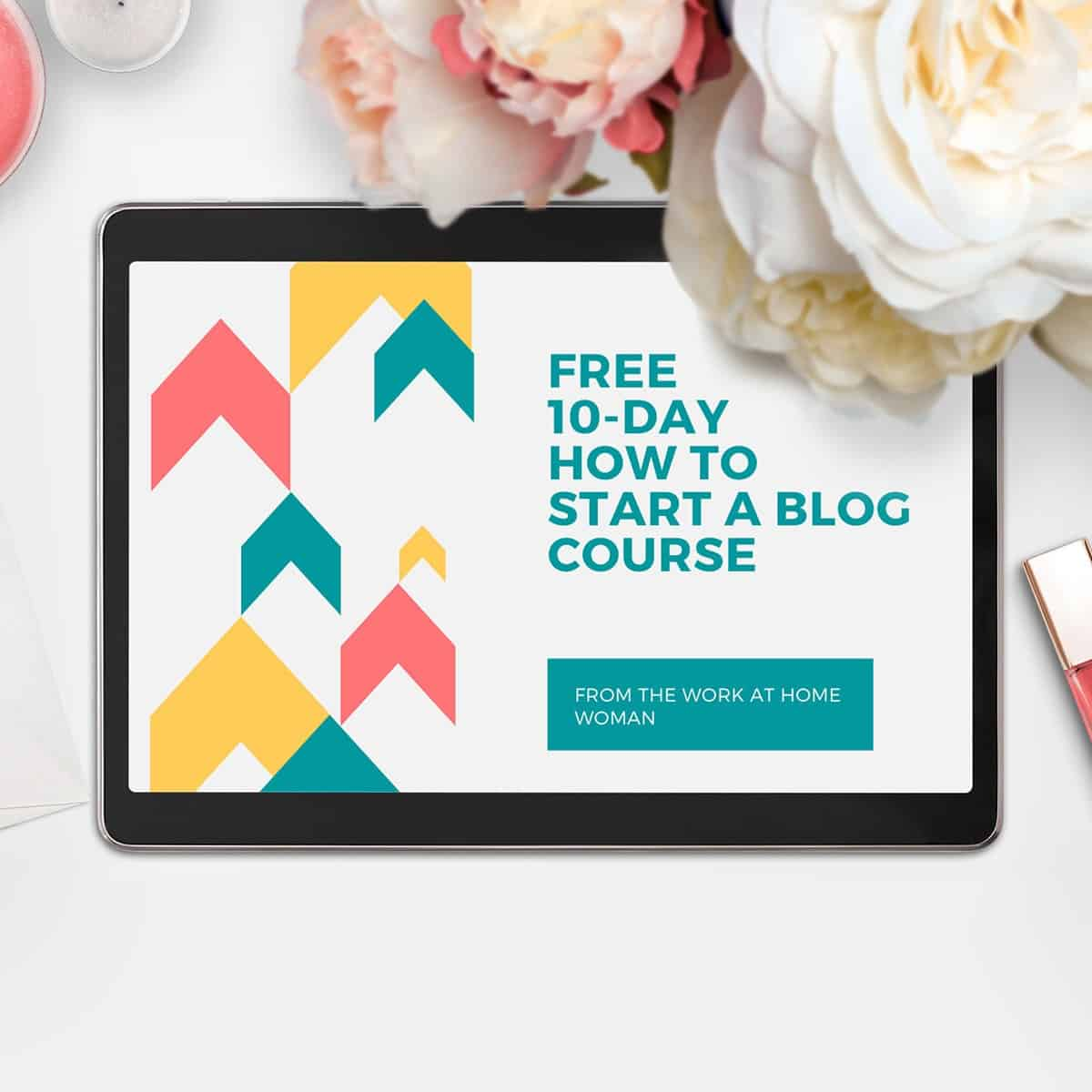free 10-day blogging course