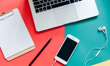 computer, cell phone, and note - for free business ideas
