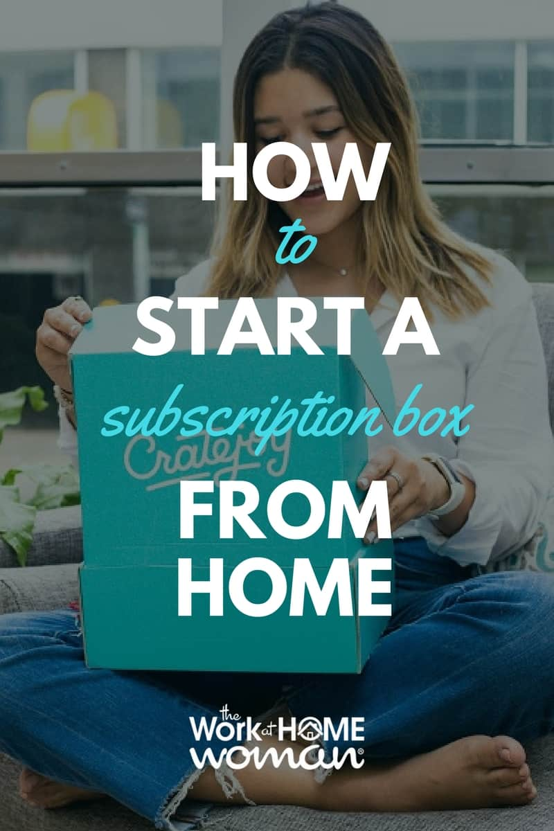 Do you love subscription box services? Would you like to run a business from home? Are you great at curating hip new products? Here's how to start a subscription box business from home! #subscriptionbox #business #workfromhome #ad @cratejoybiz https://www.theworkathomewoman.com/start-a-subscription-box/ ‎ via @TheWorkatHomeWoman