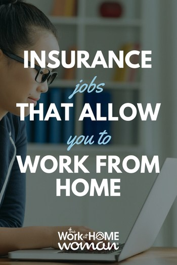Would you like a work-at-home home insurance job? Read on to see what's available for telecommuters in the home, auto, and life insurance industries. #workfromhome #insurance #jobs via @TheWorkatHomeWoman