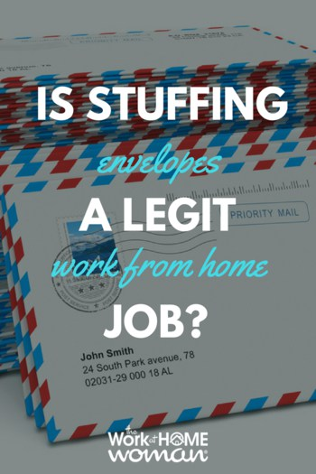 Is Stuffing Envelopes a Legit Work From Home Job? #workfromhome #scam #stuffingenvelopes #workathome