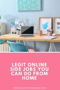 Legit Online Side Jobs You Can Do From Home
