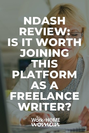 Are you a freelance writer looking for more clients? Here's my review of the nDash platform, so you can determine if it's right for you. #freelancer #writers #online #jobs via @TheWorkatHomeWoman