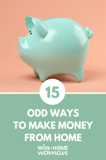 15 Odd Ways to Make Money From Home