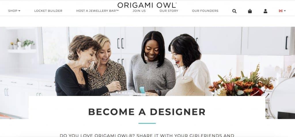 origami owl direct sales canada
