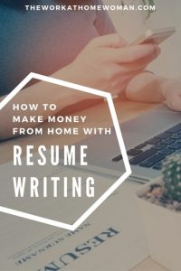 How to Make Money From Home with Resume Writing