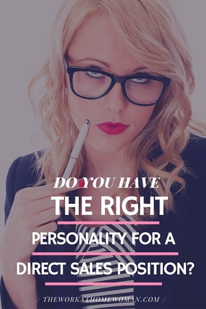 Do You Have the Right Personality for a Direct Sales Position?