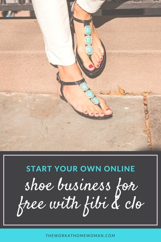 Start Your Own Online Shoe Business for FREE with fibi & clo