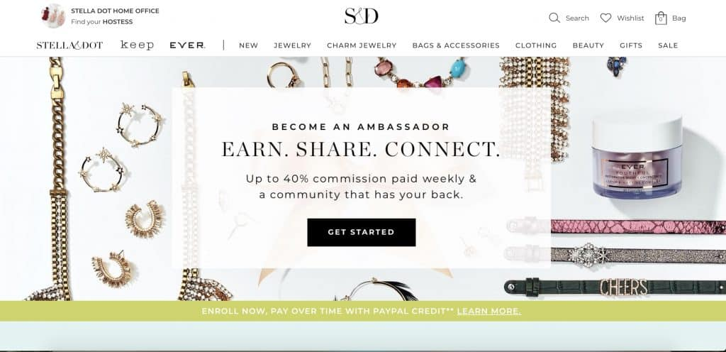 stella & dot direct sales canada