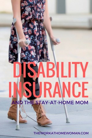 Wondering how to cope financially if you, the primary caregiver for your children, gets injured? Here's a company that offers disability insurance for stay-at-home moms!  via @TheWorkatHomeWoman