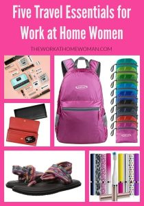 Five Travel Essentials for the Work at Home Woman